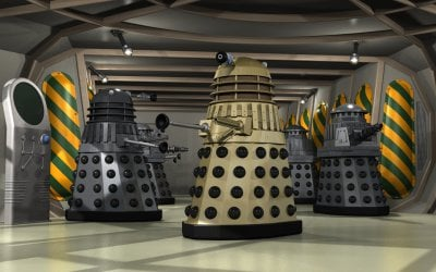 Day of the Daleks shuttle