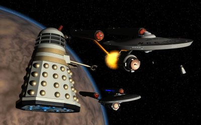 Defiant vs the Daleks