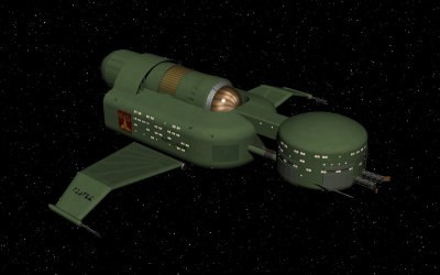 Early Klingon destroyer